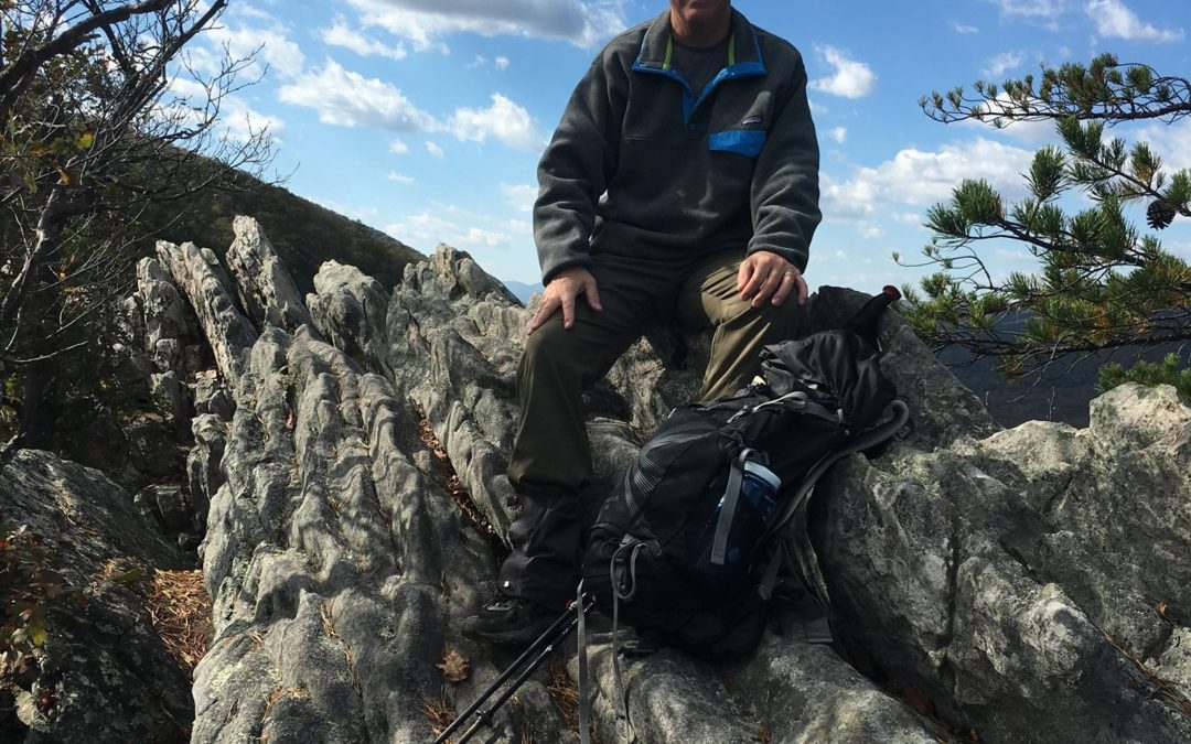 Stephanie – Holistic nutrition student and Dave, a hiker